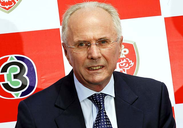 Besides Benfica, Sven-Goran Eriksson has coached England, Mexico and Ivory Coast's national teams.