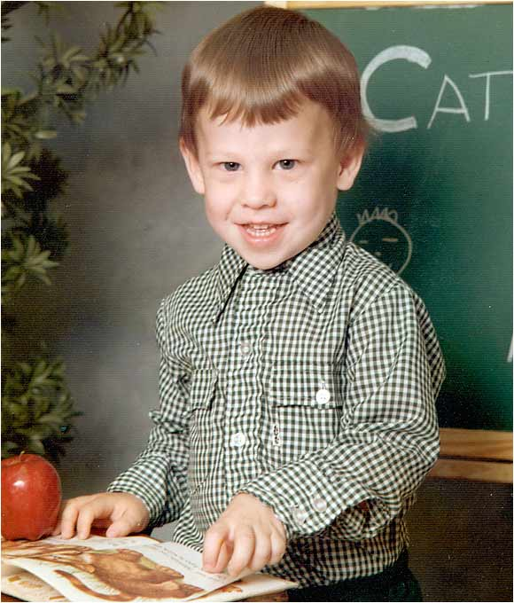 Here is Lance Armstrong at age 3 1/2 at Grace Temple Day Care.