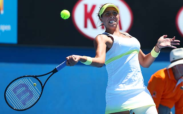 Keys, 17, took out No. 30 Tamira Paszek 6-2, 6-1 to continue her rise.