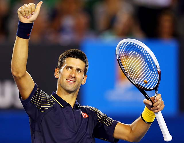 No. 1 Novak Djokovic beat American Ryan Harrison 6-1, 6-2, 6-3. The Serb faces No. 31 Radek Stepanek in the third round.