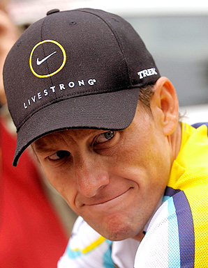Lance Armstrong stepped down as head of Livestrong on October 17 last year.