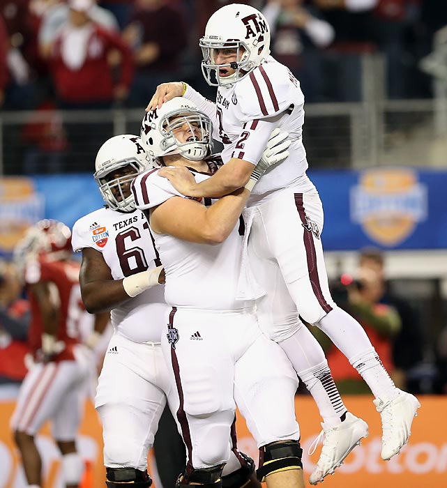 With the possibility of being the No. 1 overall selection in the NFL Draft, it's hard to question left tackle Luke Joeckel's decision to forego his senior year at Texas A&M. <italics>(Send comments to siwriters@simail.com)</italics>