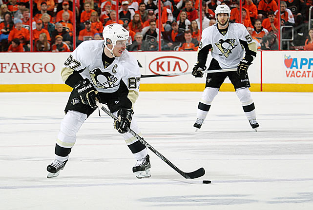 Fully healthy at last after a year-plus battle with concussion symptoms, the game's premier player takes the ice with some key questions: how long before he returns to top form? How will the physical demands of the short schedule affect him? The answers will determine whether the Penguins redeem themselves for their ugly first-round playoff loss to the Flyers last spring and play for their second Stanley Cup since 2009.