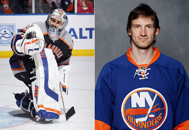 As the perennially rebuilding Isles try to make some progress in the tough Atlantic, the injury-plagued DiPietro (<bold>GALLERY: The painful saga</bold>) will try yet another comeback. (The first goalie ever drafted No. 1 overall still has nine years left on his contract.) And after the loss of productive winger P.A. Parenteau, the team hopes to catch proverbial lightning in a bottle with Boyes, 30, who had 43- and 33-goal campaigns for St. Louis (2007-09) before pulling a Cheechoo (see: Jonathan, former 56-goal scorer) and tallying all of five and eight for Buffalo the last two seasons respectively. Success by either or both could qualify as the season's top resurrection tale.