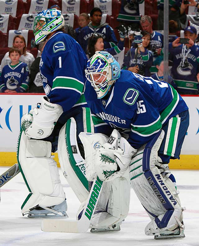 The most high-profile piece of trade bait in the wake of the lockout, Luongo found himself in a kind of limbo as GM Mike Gillis said he is in no hurry to make a deal until he gets the right offer that will improve the Canucks. Luongo reacted with class and said he will do what's best for the team. Florida and the improved Panthers seem to be his ideal destination, rather than the pressure cookers of Toronto and Philadelphia. In the meantime, Cory Schneider will get the chance to prove himself worthy of the No. 1 role for a team that still has Stanley Cup aspirations although the clock may now be running down on them.