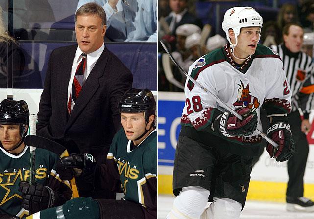 Feb. 26, 2002: Coyotes 5, Stars 1 Landon Wilson: 0 Pts, +1 <bold>Landon 1, Rick 0</bold>