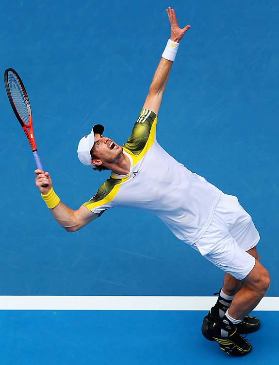 No. 3 Andy Murray beat Joao Sousa 6-2, 6-2, 6-4. He'll face Ricardas Berankis in the third round.