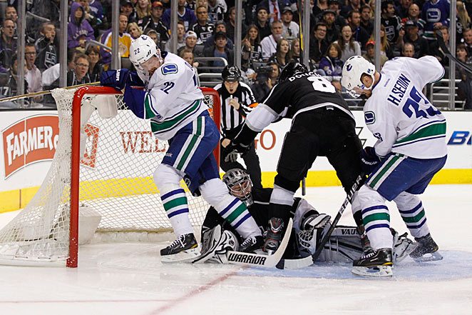 The Sedin twins' Canucks are still Canada's best bet for its first Stanley Cup champion since 1993.