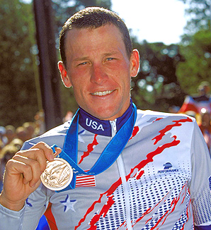 The IOC has officially asked Lance Armstrong to give back his 2000 Olympic bronze medal, a decision they say is not linked to his interview with Oprah Winfrey.