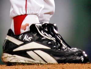 Curt Schilling's sock is expected to go for at least $100,000 at auction.