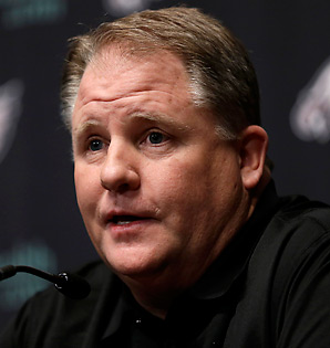 Chip Kelly was 46-7 in four seasons as Oregon's head coach.