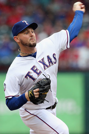Matt Harrison had a career year for the Rangers in 2012, winning 18 games.
