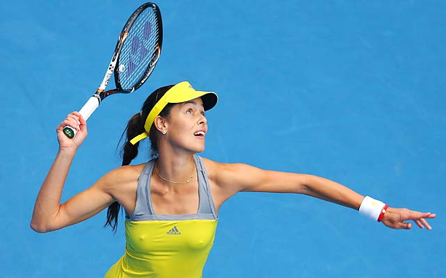 No. 13 Ivanovic dispatched No. 22 Jelena Jankovic 7-5, 6-3 in a matchup of former No. 1s.