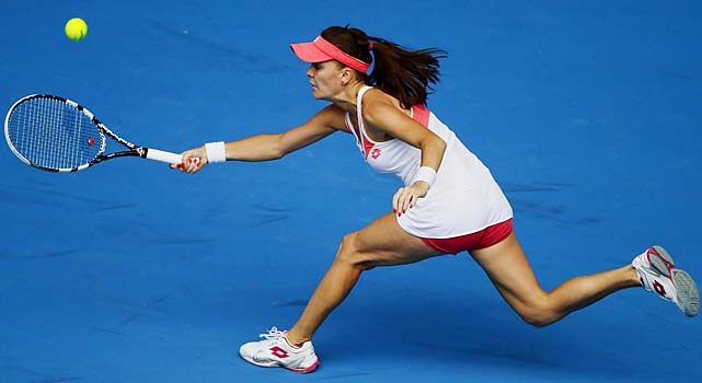No. 4 Agnieszka Radwanska will face No. 18 Julia Goerges in the fourth round.
