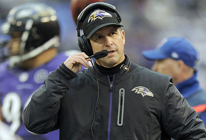 John Harbaugh has led the Ravens to a win in the playoffs in each of his five years with the team.