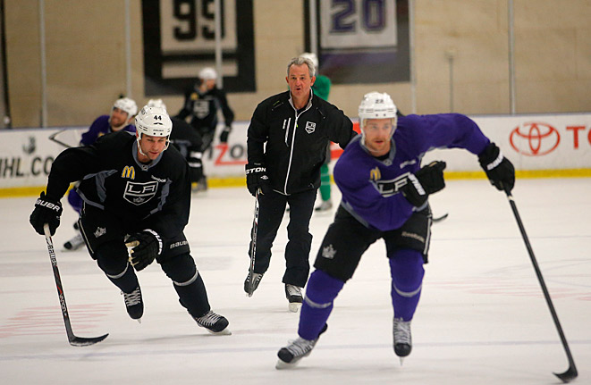 Coach Darryl Sutter got the Kings going on a Stanley Cup run after his hire in Dec. 2011.