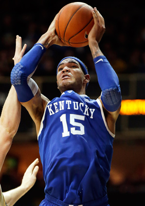 Kentucky forward Willie Cauley-Stein's status is uncertain after having a procedure on his knee.