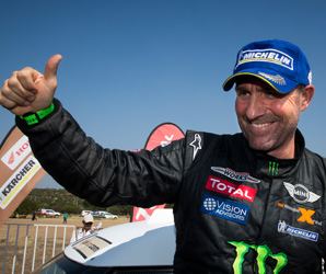Stephane Peterhansel is the first person to win the car category twice since the rally moved from Africa to South America in 2009 for security reasons.