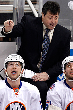 Jack Capuano is 60-66 in two seasons as the Islanders' head coach.