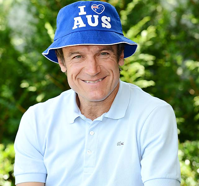 Three-time Australian Open champion Mats Wilander.