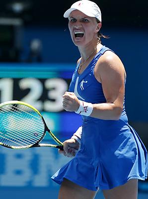 Svetlana Kuznetsova is looking for her third major title.