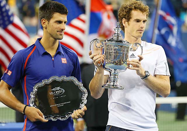 Andy Murray beat Novak Djokovic in the U.S. Open final for his first Grand Slam title.