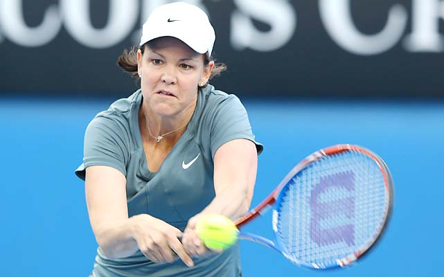 Lindsay Davenport is playing legends doubles at the Australian Open with Cara Black.