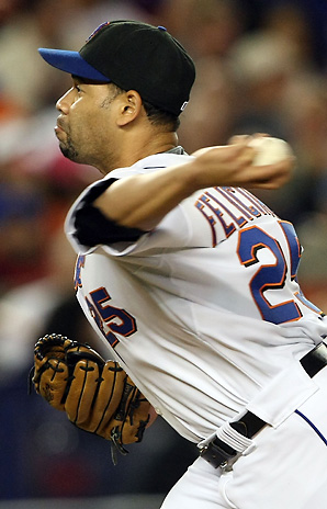 Left-handed reliever Pedro Feliciano has struggled the past two seasons with arm injuries. Feliciano was under contract with the Yankees for the past two seasons, but never pitched a game in the Bronx.