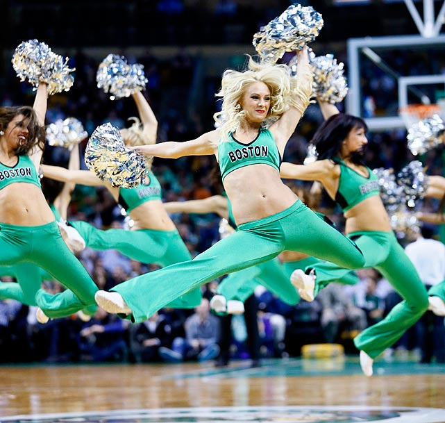 Jan. 14, 2013 Charlotte Bobcats at Boston Celtics