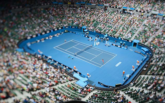 Rod Laver Arena will host every singles match from here on out at Melbourne Park.