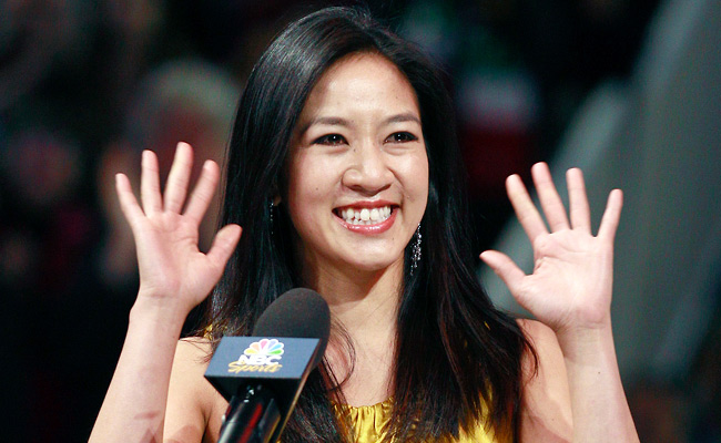 Two-time Olympic figure skating medalist Michelle Kwan, 31,married White House staffer Clay Pell.