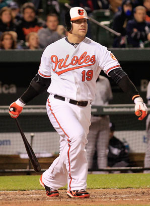 With Mark Reynolds now playing for the Indians, Chris Davis has been handed the first base job for the Orioles for the season ahead.