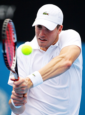 John Isner (above) will join Sam Querrey in singles for the Americans.