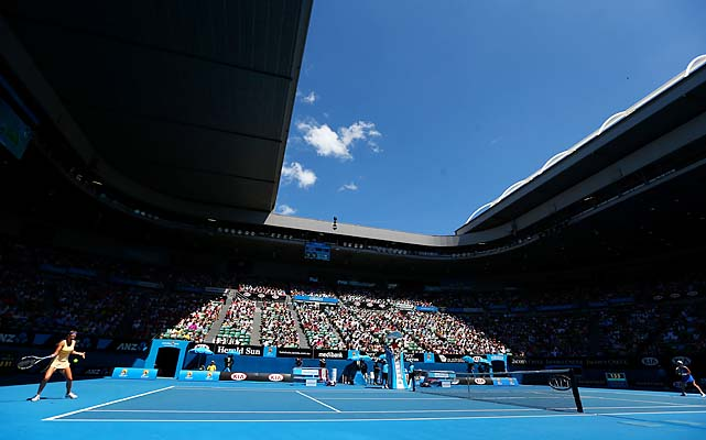 The quarterfinals concluded at Melbourne Park on Wednesday.