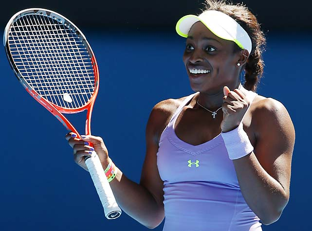 Stephens, 19, beat Williams for the first time. They had only played once before, earlier this year in Brisbane.