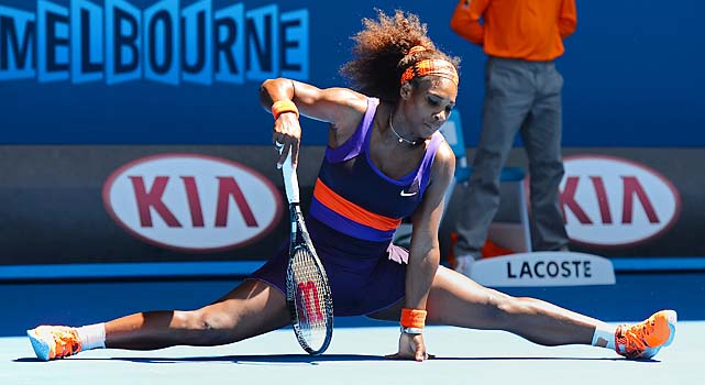 Williams lost to a younger American for the first time in her career.