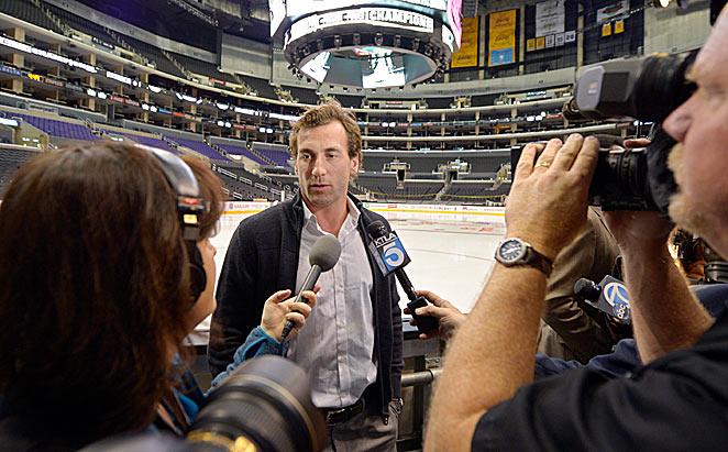 Wherever they go, Jarret Stoll and the other Kings will be asked about an old mug they won last year.