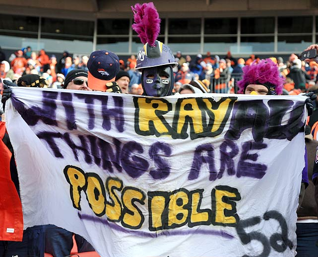 Ravens at Broncos AFC Divisional Playoffs Jan. 12, 2013