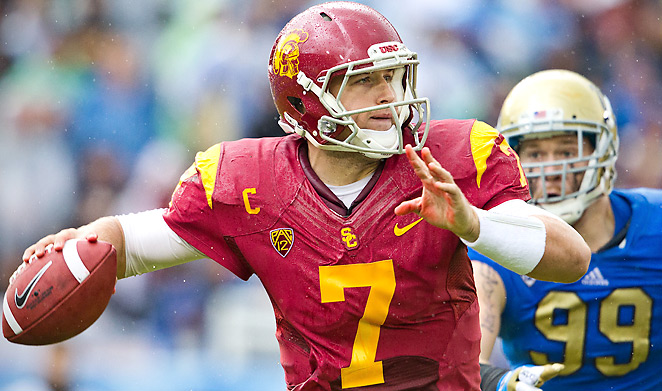 NFL teams will have to decide how much stock to put in Matt Barkley's lackluster 2012.