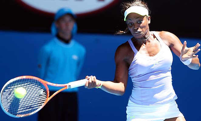 Sloane Stephens upset Serena Williams in the quarterfinals of the Australian Open.