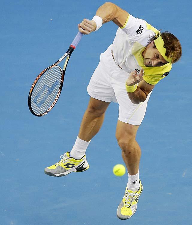 Ferrer has yet to break through and reach a Grand Slam final.