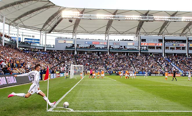 The Home Depot Center hosted the 2012 MLS Cup final, won by the Los Angeles Galaxy.