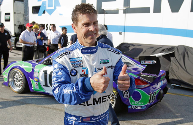 Scott Pruett, a four-time Rolex 24 winner, is looking to tie Hurley Haywood's record of five victories.