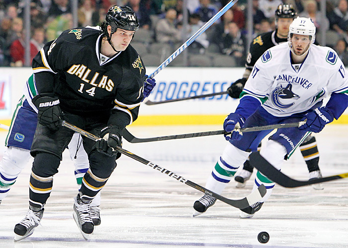 Jamie Benn had career highs with 26 goals, 37 assists and 63 points for the Stars last season.