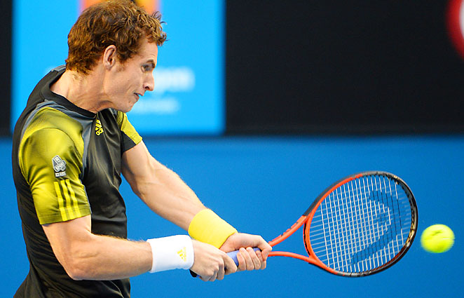 No. 3 Andy Murray will play No. 1 Novak Djokovic in the Australian Open final on Sunday.