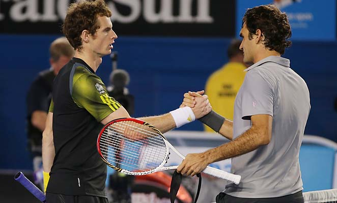 No. 3 Andy Murray will face No. 1 Novak Djokovic in the Australian Open final Sunday.