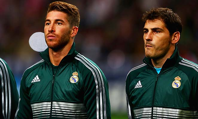 Sergio Ramos, Iker Casillas and Real Madrid face Barcelona in the Copa del Rey semis next week.