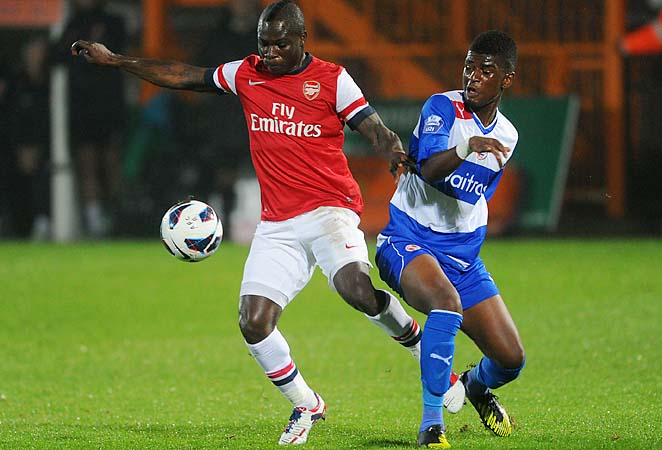 Emmanuel Frimpong has been in Arsenal's system since 2001.