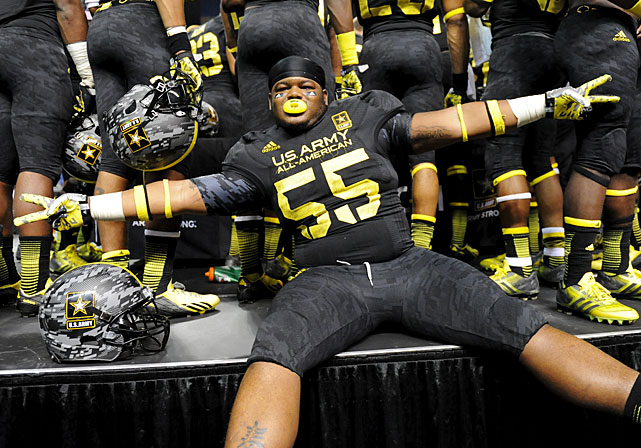 Despite playing only four games for Eastern Christian Academy in Elkton, Md., Rodgers showcased his skills during the U.S. Army All-American Bowl.
