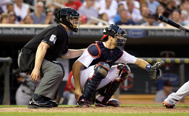 Joe Mauer played in a career-high 147 games in 2012, but he appeared in just 74 game behind the plate.